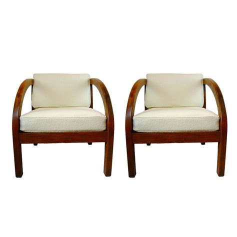 deco lounge chairs deco leather lounge chair at 1stdibs