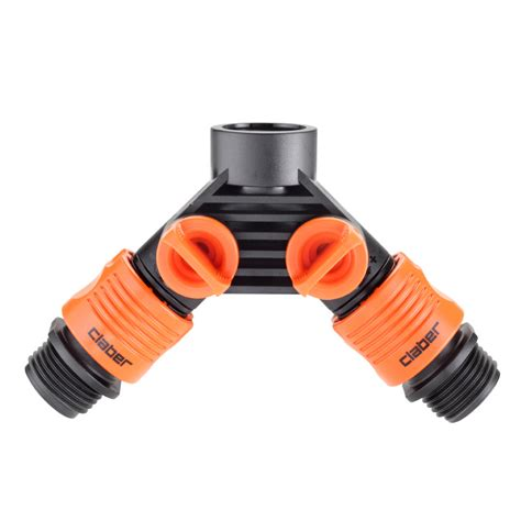 Faucet To Hose Connector by Faucet To Garden Hose Connector Set Claber