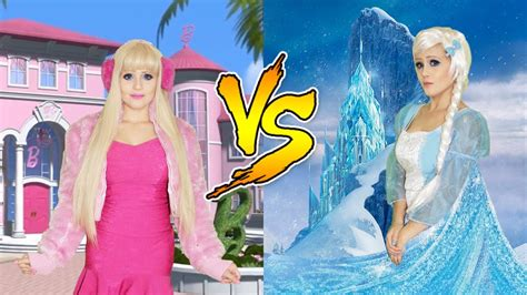film barbie frozen 2 barbie vs frozen 2 youtube