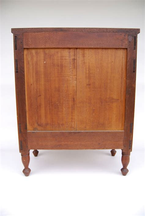 early antique american walnut childs chest circa 1830