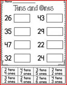 place value worksheets for 1st grade kristal project