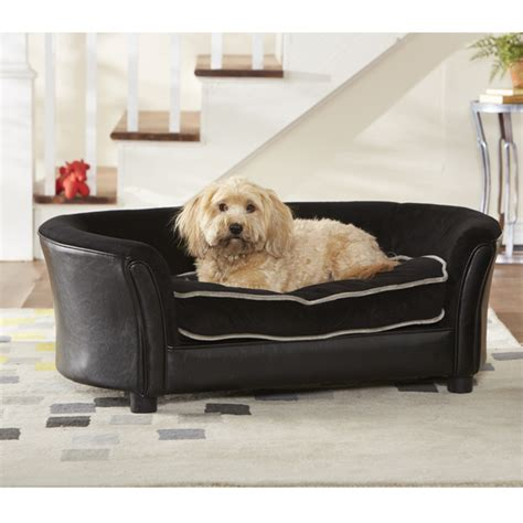 dog couches and beds pet sofa beds faux leather dog sofa bed mission hills with