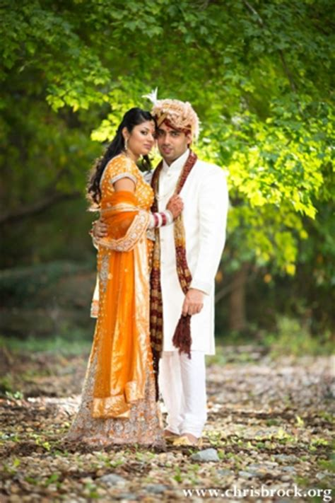 Wedding Portrait Ideas by Cheerful Fusion Indian Wedding By Christopher Brock