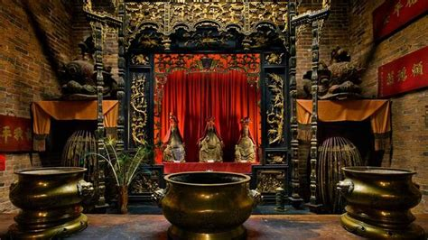 preserved chinese temple  oroville recalls gold