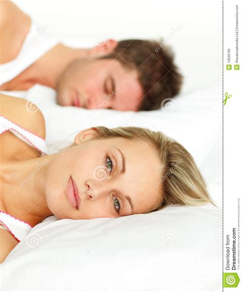 lying in my bed couple lying in bed royalty free stock photo image 10946195