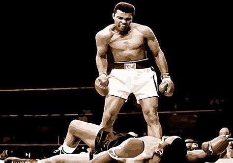 knock out muhammad ali vs sonny liston boxing knockout buy