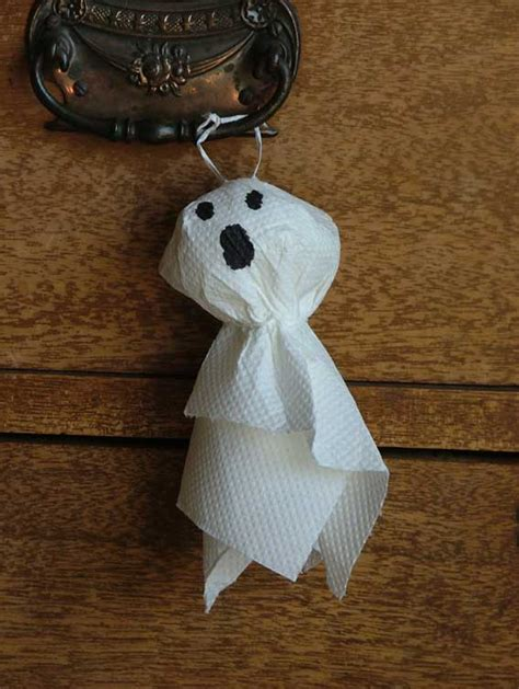 Paper Towel Crafts For Preschoolers - paper crafts for children 187 paper towel ghosts