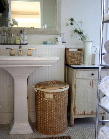 33 Clever Stylish Bathroom Storage Ideas Wicker Basket Bathroom Storage