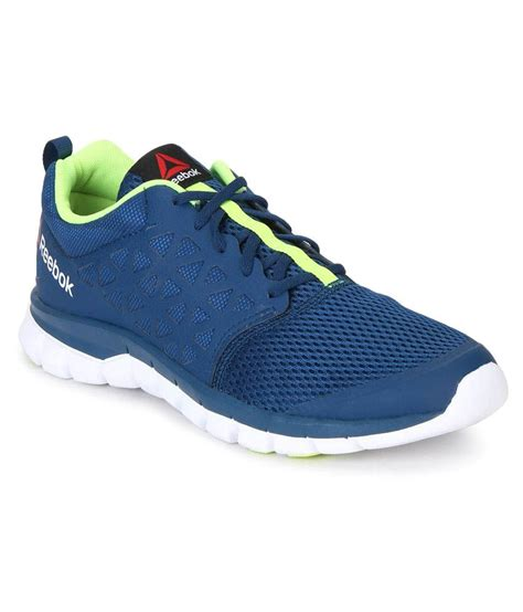 reebok sublite xt cushion 2 0 blue running shoes price in