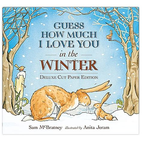 quot guess how much i love you in the winter quot by sam mcbratney bed bath beyond