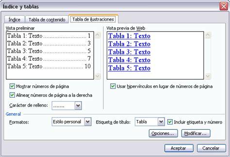 insertar imagenes tabla html informatica bermejo tablas de contenidos tablas de