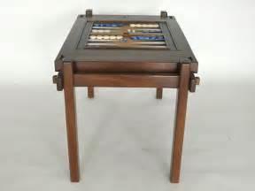 walnut wood backgammon table at 1stdibs
