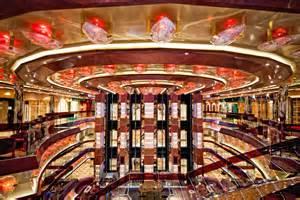 costa fascinosa interni as marcia prepares to tour costa cruises newest ship the