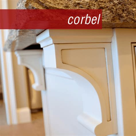 Whats A Corbel Cabinetry 101 Guide To Cabinetry Terms