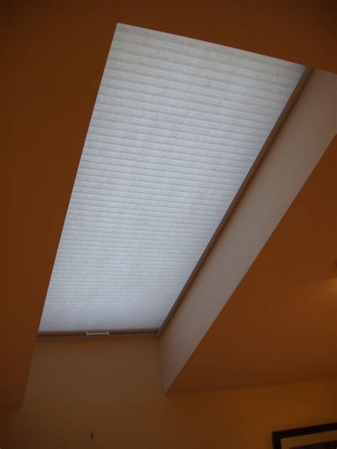 skylight drapes motorized and manual flat and honeycomb skylight shades