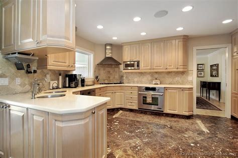 Whitewash Kitchen Cabinets | pictures of kitchens traditional whitewashed cabinets