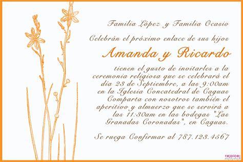 textos para las invitaciones de matrimonio textos de invitaciones de boda grandes ideas