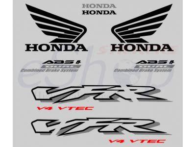 Honda Vfr 800 Vtec Aufkleber by Vfr 800 Interceptor Vtec 2002 2003 Set 1 Eshop Stickers