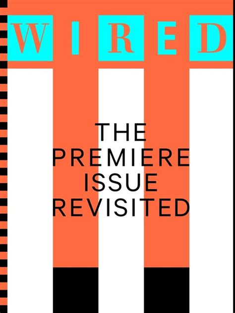 special design issue wired wired celebrates 20 year anniversary with reimagined issue as issue insight