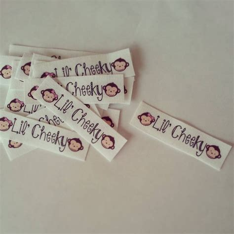 Personalized Labels For Handmade Items - fabric labels for handmade items handmade
