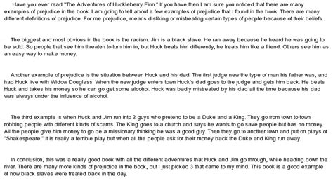 racial themes in huckleberry finn themes of prejudice and racism in huckleberry finn at