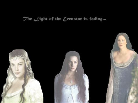 Arwen Wallpaper 5 Light Of The Evenstar Is Fading By