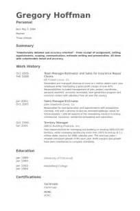 It Repair Sle Resume by Team Manager Resume Sles Visualcv Resume Sles Database
