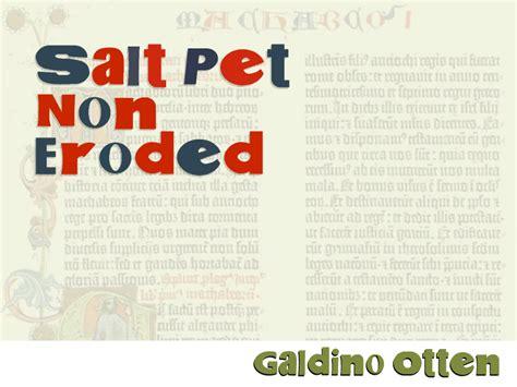 dafont eroded salt pet non eroded font dafont com