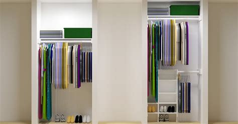 easy small closet organizer plans