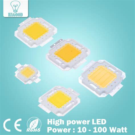 Promo Hpl 10w Cob High Power Led 10 Watt Chips On Board Warm White 1 10w 20w 30w 50w 100w led integrated high power led