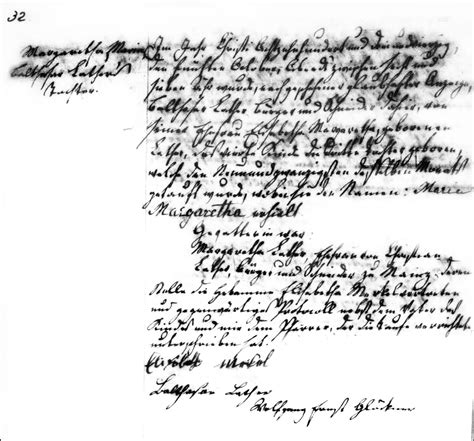 Hesse Darmstadt Birth Records The Birth And Baptism Of Margaretha Lather 1843