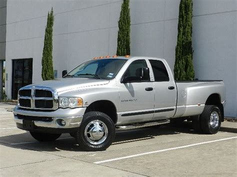 how does cars work 2003 dodge ram 3500 parking system sell used 2003 dodge ram 3500 4x4 6 speed 5 9l cummins diesel dually quad cab long bed in