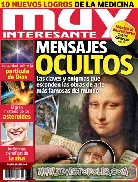 fuentes de informacin codigos de revista de mundo gaturro revista muy interesante mexico agosto 2012 noticias
