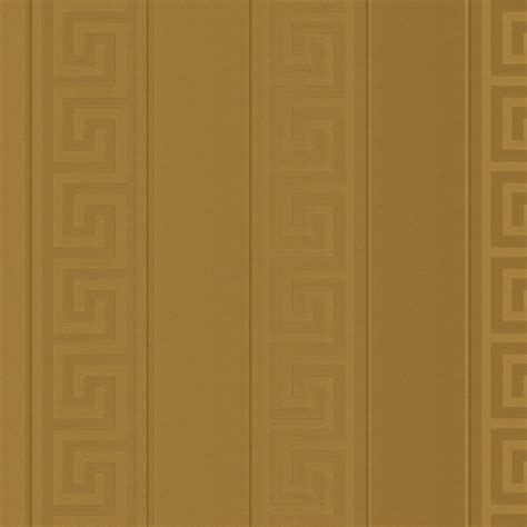 gold wallpaper metallic uk greek key stripe gold metallic wallpaper versace