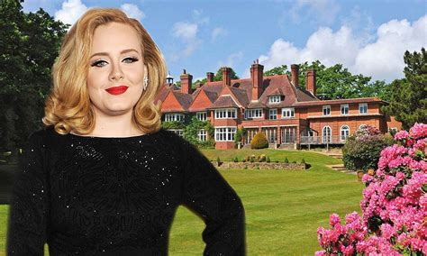 Adele House by Adele From Dingy Flat To 163 7m Mansion For Megastar