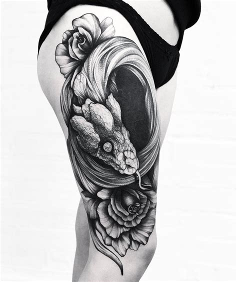 rose and snake tattoo meaning amazing snake meaning and symbolism of snake