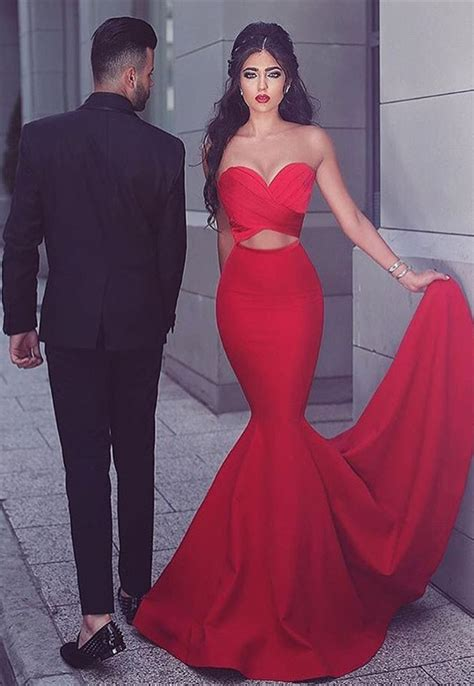 Sage Color by Red 2018 Mermaid Evening Dress Sweetheart Long Mh204
