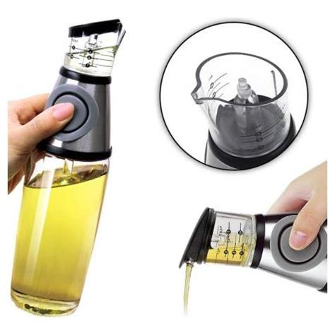 dispense di informatica dispenser olio e aceto con misurino 500ml di capienza