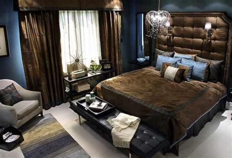 Blue And Brown Bedroom Ideas For Decorating by Candice Bedroom Contemporary Bedroom Candice