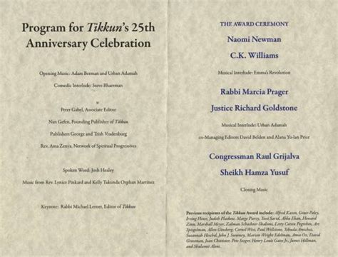 13 25th Wedding Anniversary Program Template Images   Vow