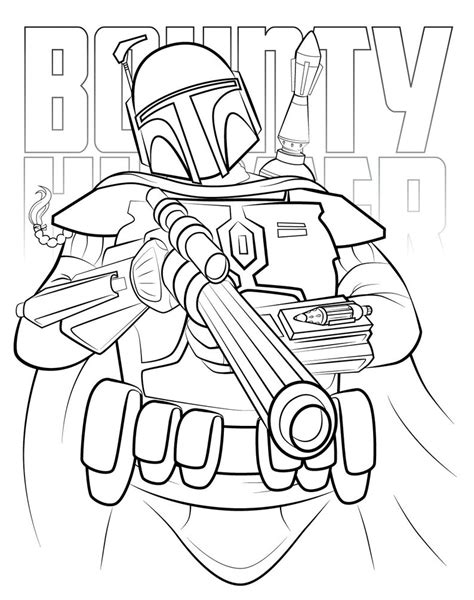 jango fett helmet coloring pages coloring pages