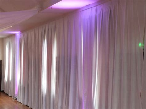 church drapes made to measure white wall drapes for church hall in