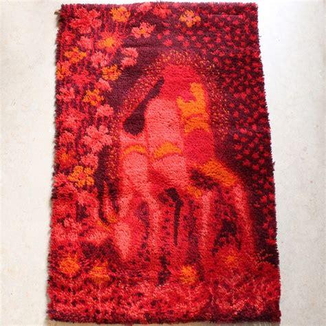1970s rug anonymous deer rya rug 1970s rugged photos deer and rugs