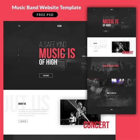 best 25 music website templates ideas on pinterest