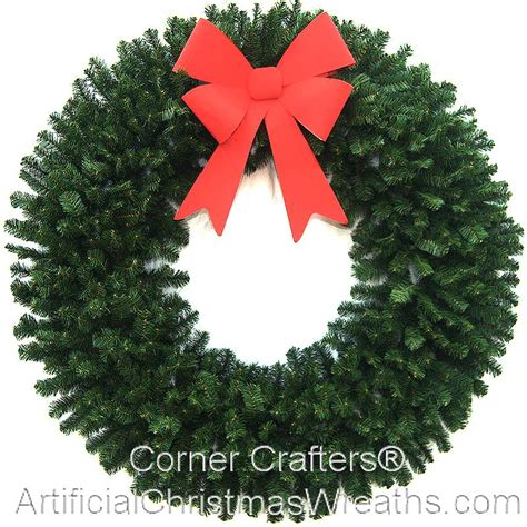 60 inch christmas wreath without lights cornercrafters
