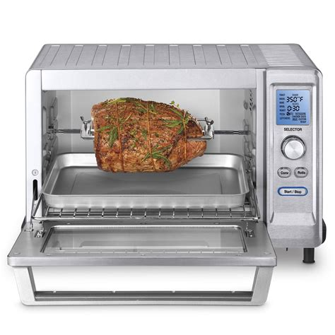 Countertop Oven With Convection Rotisserie by Cuisinart Tob 200 Rotisserie Convection Toaster Oven Review