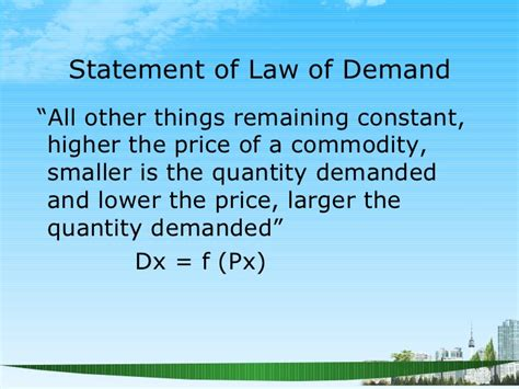 Managerial Communication Notes For Mba Ppt by Economics Demand Ppt Mba 2009 Ppt