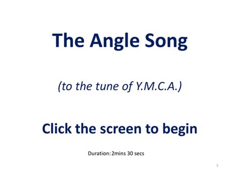 angle song the angle song by profsnape934 teaching resources tes