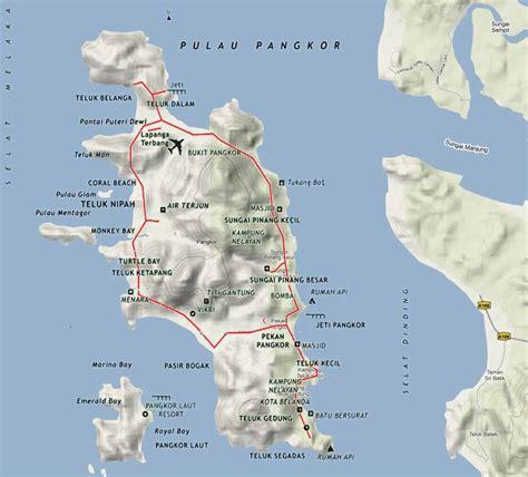 pangkor island resort map phoebettmh travel malaysia pangkor island beautiful