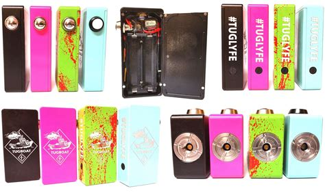 tugboat vape box authentic tugboat box mod by flawless vape variable